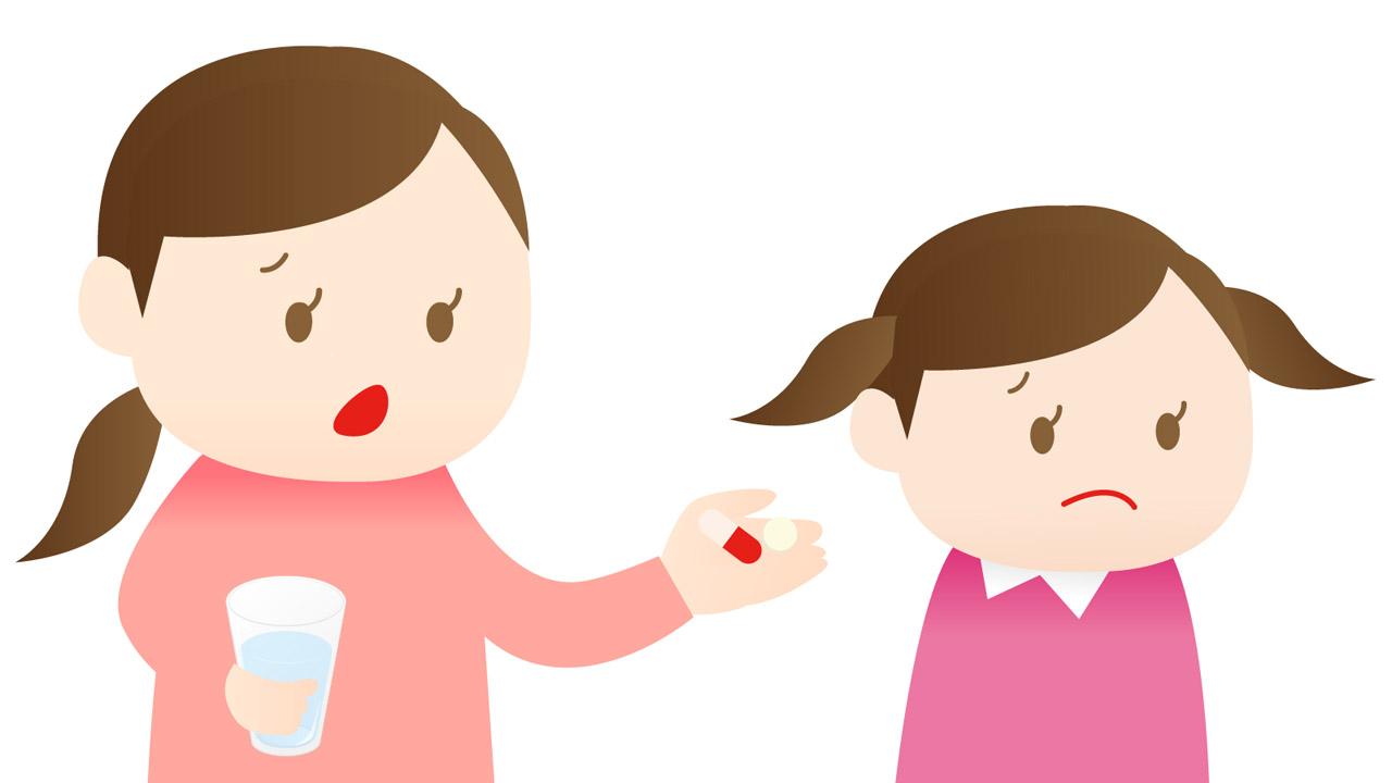 薬を嫌がる子どもにはチョコレートアイスがおすすめ